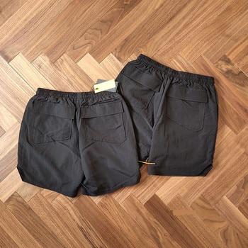 19SS RHUDE Rhude X Patron New Version Shorts Men Summer RHUDE Mesh Swimming Trunk 3 Options Unisex Zipper Drawstring Short 1