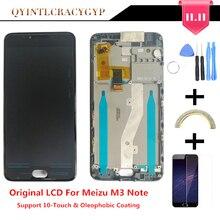 10 מגע מקורי LCD + מסגרת עבור Meizu M3 הערה L681H Lcd תצוגת החלפת מסך לmeizu M3 הערה l681H Digiziter Aseembly