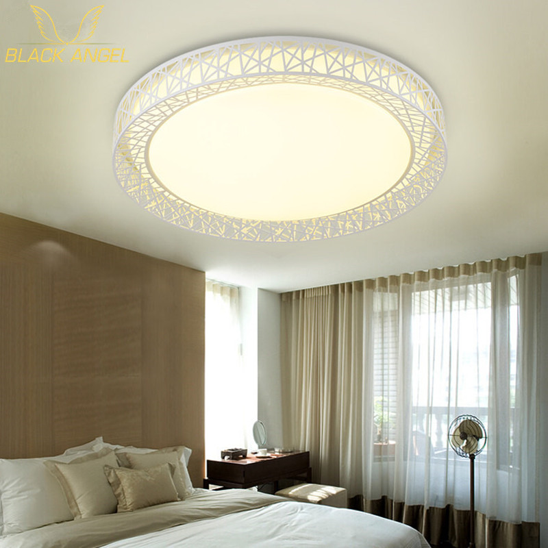 ФОТО livingroom lamp ceiling light LED 18w 24w children Bedroom ceiling lamps acryl lampshade for home illumination