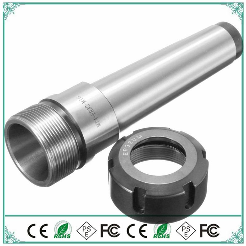 Spindle High-precision MT4 ER25 ER32 ER40 Spindle chuck with CNC wagon milling machine extension 1PCS M16 rear thread цена