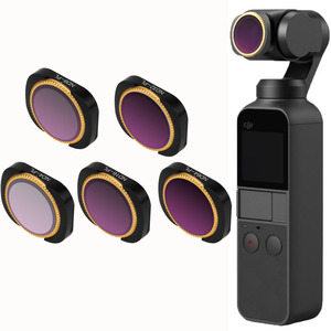Image 1 - Drone Filter Voor Dji Osmo Pocket/2 ND4 8 16 32 64PL Filters Packet 2 Protector Verstelbare Neutral Density polar Accessoires