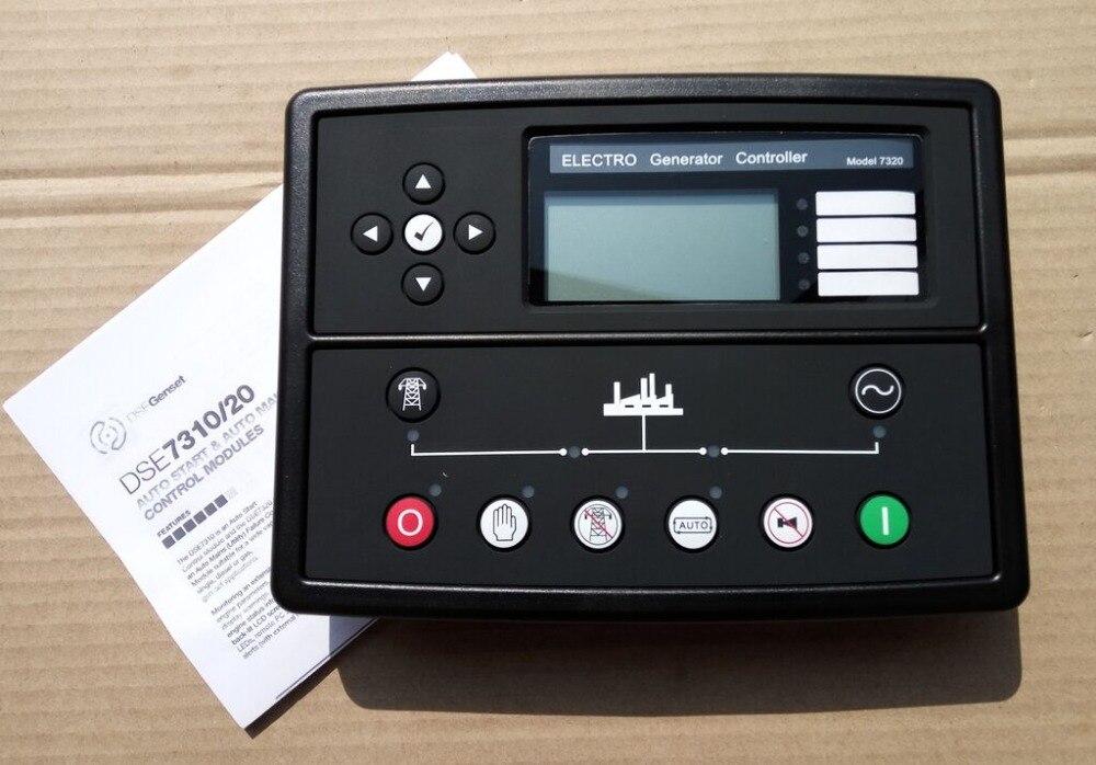 Deep sea controller DSE7320 Auto Start Control Module Panel Genset free shipping deep sea generator set controller module p5110 generator control panel replace dse5110