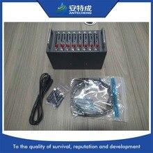 Sans fil 3g modem 8 sim SIM5360E, wcdma sms 3g 8 ports modem piscine ouverte tcp/ip 3g modem usb 8 ports