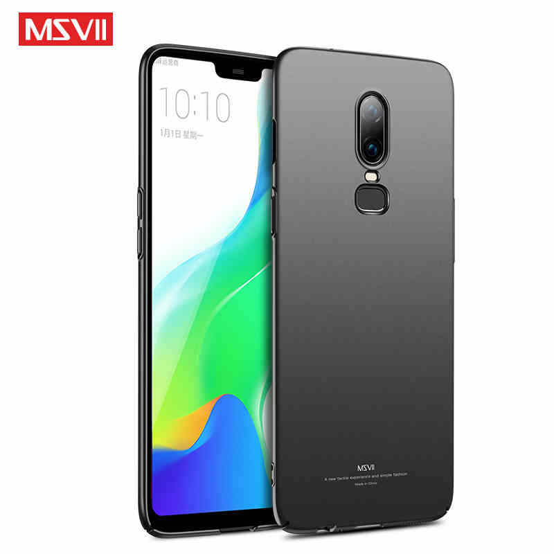 Oneplus 7 Case Cover With Ring Metal Car Magnetic Holder Slim Hard PC Back Cover For Oneplus7 7Pro 6 6T Case Msvii Phone Coque in Fitted Cases from Cellphones Telecommunications