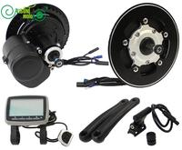 Exclusive 48V 500W Brushless Geared Mid Drive Motor EBike Conversion Kit With Controller Torque Sensor And