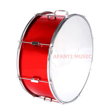 22 inch / Red Afanti Music Bass Drum (BAS-1491)