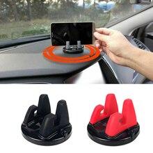 Автомобильный держатель для телефона на 360 градусов крепление приборной панели gps авто аксессуары для peugeot 307 206 308 407 207 3008 406 208 508 301 2008 408 5008