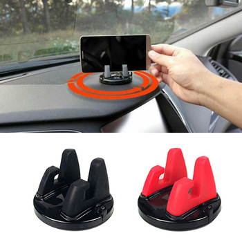 Car Phone 360 Degree Mount Dashboard GPS Auto Accessories For Peugeot 307 206 308 407 207 3008 406 208 508 301 2008 408 5008 image