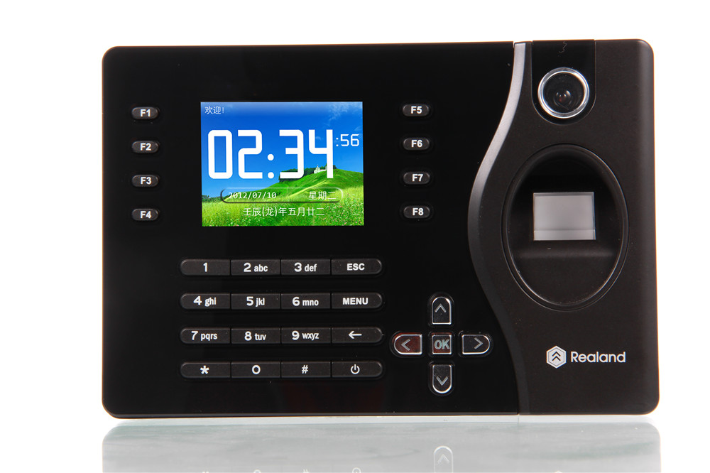 2.4 TFT LCD Display 2000 User Finger Print Password 125khz ID Card Door Access Control System все цены