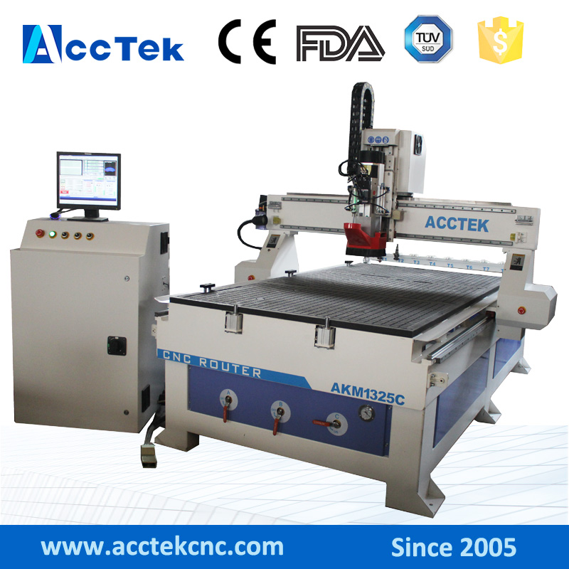 China Wholesale Air Cooling Wood Design Cnc Router 1325 USB Port For Sale