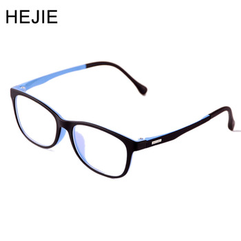 48c550f782 Marcos de gafas ULTEM de alta calidad para niños HEJIE Material seguro  doble colores elástico tamaño de templo irrompible 48-16-135mm 1038
