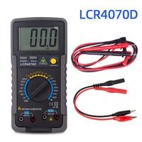 HONEYTEK LCR4070D LCR Meter Digital Inductance Capacitance Resistance Meter Capacitor Checker inductance measurement Meter