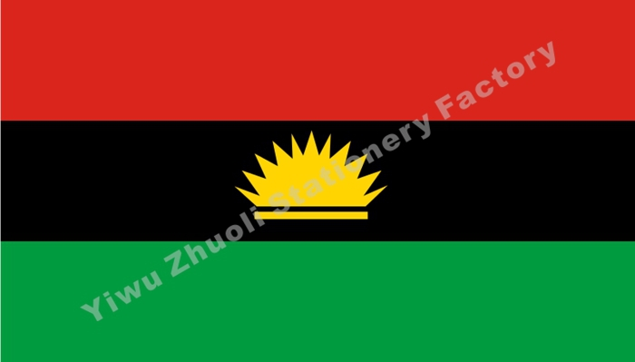 Biafra flag 150x90cm 3x5ft 120g 100d polyester double stitched aeproducttsubject thecheapjerseys Image collections