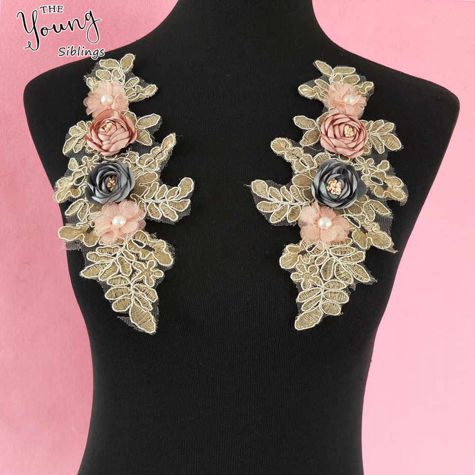 Detail Feedback Questions About New Arrive 3d Flower Neckline Collar