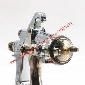Image 5 - Ручной пистолет распылитель W101 134g HVLP, 0,8/1,0/1,3/1,5/1,8 мм, 400 мл, мебель, автоматическая покраска, автомобильный пистолет распылитель