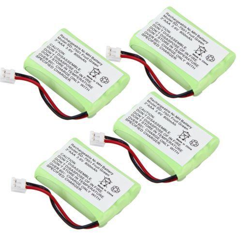 AAA 800 мАч 3.6 В Ni-MH Перезаряжаемые Замена беспроводной домашний телефон Батарея для Motorola sd-7501 Battries упаковки фруктов зеленый US