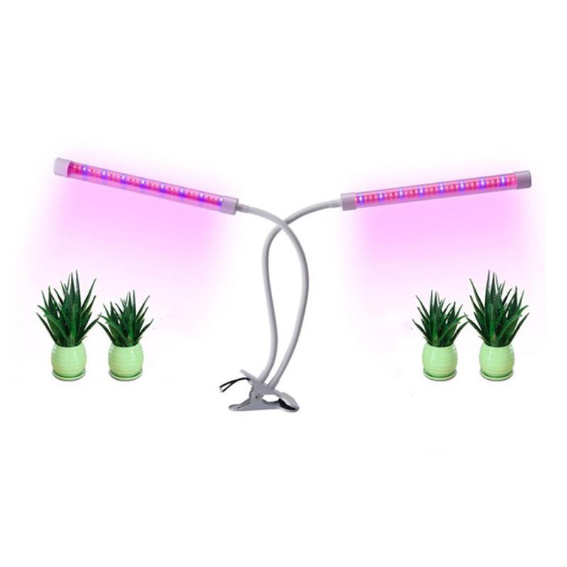 Timer Setting Led Grow light 64LED Seeds Vegetables Indoor Flower Bloom Greenhouse Vegetables Lamp Flexible Flower Clip Plant Z2