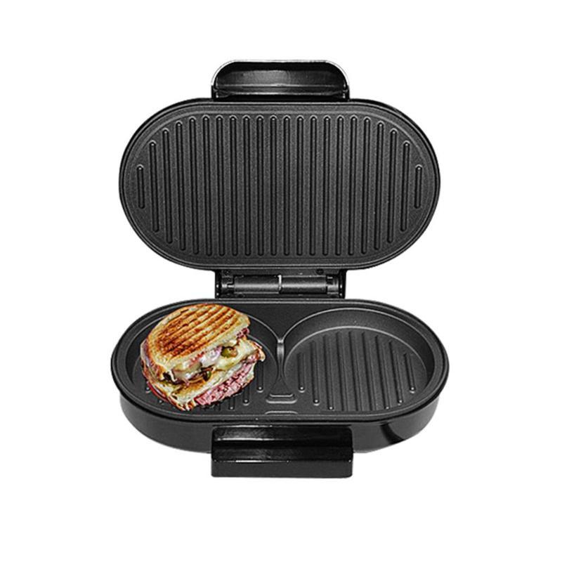 BBQ Steak Hamburger Electric Grill Meat Roaster Machine Egg Frying Maker Pan Sandwich Maker Breakfast Barbecue Tool Household