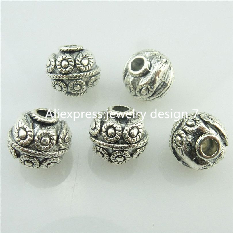 fbb68d6ce23a0 ᗗFree shipping 18696 15pcs Vinatge Antique Silver Alloy Totem 9mm ...