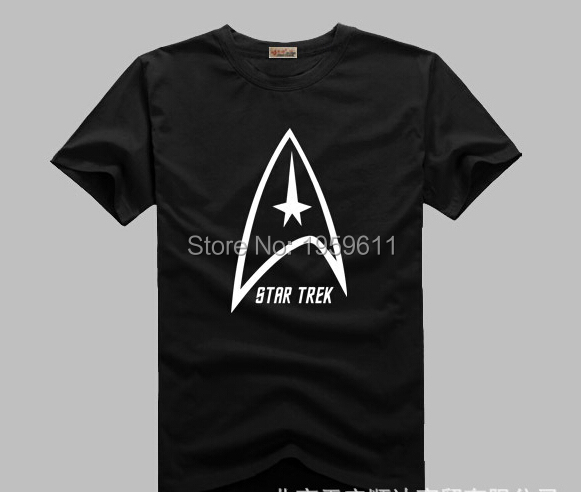 Star trek Printed Mens Men T Shirt Tshirt Fashion 2015 New Short Sleeve O Neck Cotton T-shirt Tee Camisetas Hombre