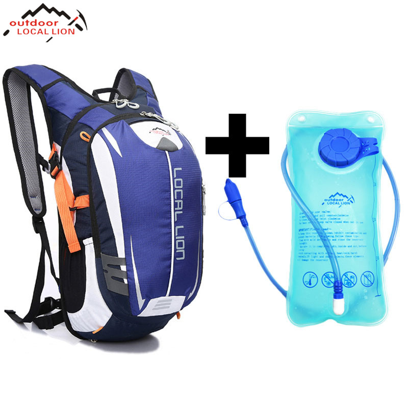 LOCAL LION Climbing Backpack +2 L Water Bag MTB18L Cycling Backpack Breathable Outdoor Cycling Backpack Hiking Bicycle BackpacksLOCAL LION Climbing Backpack +2 L Water Bag MTB18L Cycling Backpack Breathable Outdoor Cycling Backpack Hiking Bicycle Backpacks