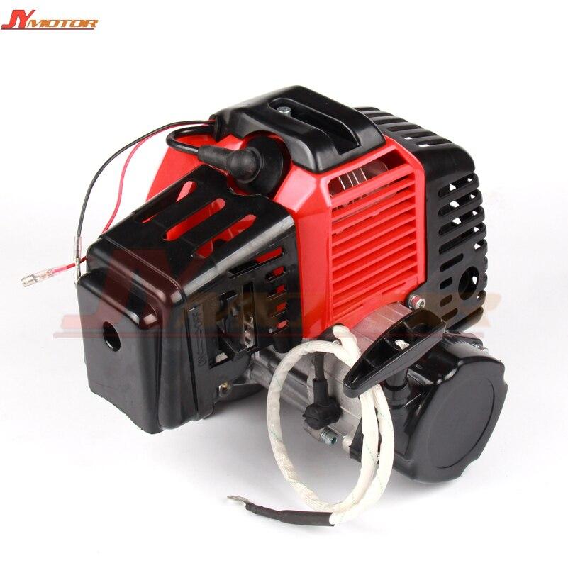 49CC двигателя Пластик тянуть E начать 15 мм карбюратор Мини Мото для 49cc Карманный ATV Quad Багги Грязь велосипед ямы измельчитель газа скутер