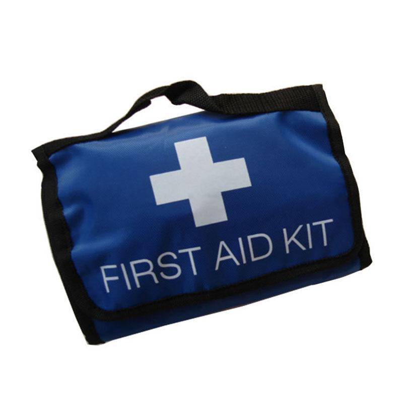 Safe Portable first aid bag home car outdoor travel medical new auto emergency kit camping survival box