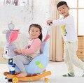 Bebê carrinho de bebê carrinho de bebê cavalo de balanço do bebê cavalo de balanço cadeira de presente com música