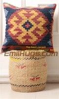 Handmade Kilim Cushion Cover Handmade Kilim Art Fleece Pillow Bed Heads
