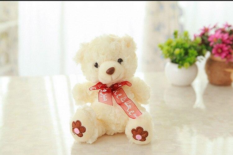 Mini oso de peluche juguetes de peluche de felpa para niños Bob ...