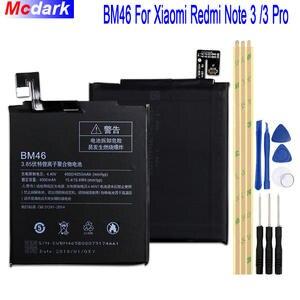 3214b8229d7 BM46 4000 mah Battery For Xiaomi Redmi Note 3 note3 Pro Prime Bateria  Accumulator