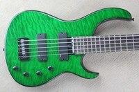 MODULUS Quantum 5 Strings BASS Electric BASS Cloud Grain Blackish Green Color 0827