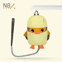 2019 new children's anti lost backpack with traction rope 1 3 years old baby backpack anti lost animal shape