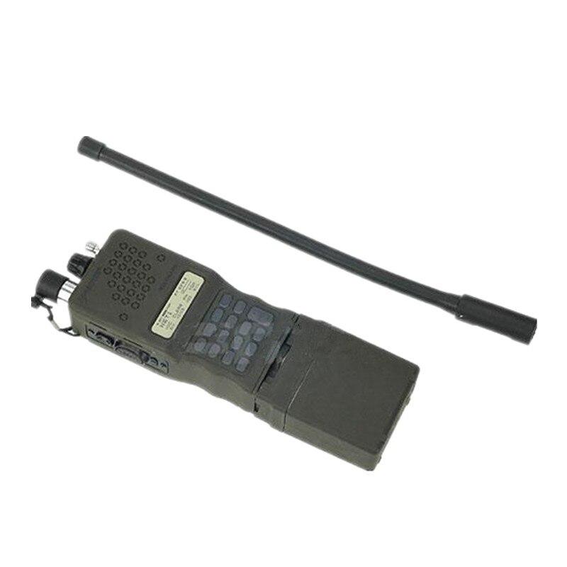 Tactique PRC-152 Dummy Radio boîtier en plastique airsoft jeu casque casque noir DE OD