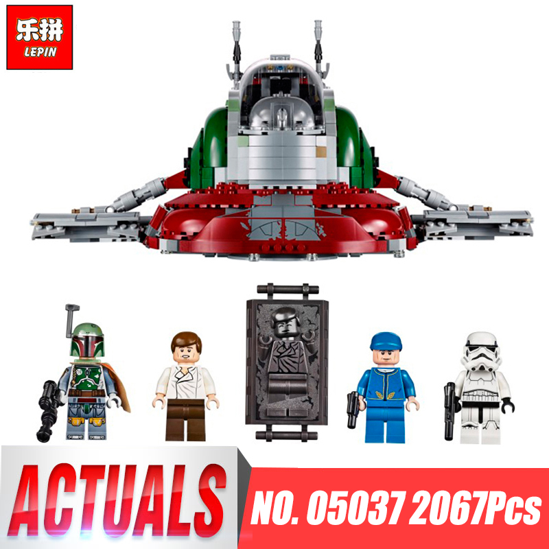 LEPIN 05037 Star Classic Series Wars Slave UCS I Slave NO.1 Model Building Block Bricks Toys Compatible 75060 Boy Gifts