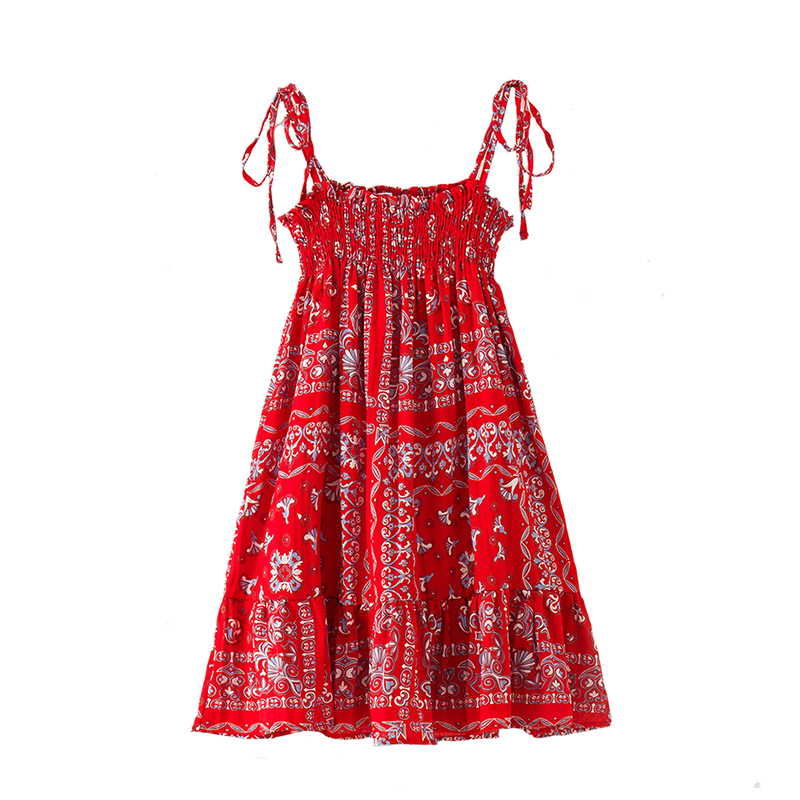 Summer Baby Girls Dress Kids Sling Dress Cotton Floral Princess for Children Bohemian Beach Party Costume Big for 4Y-12Y стул coleman summer sling 205147