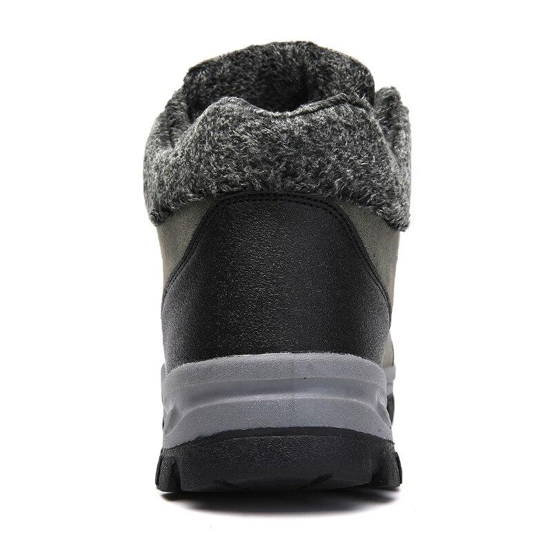 Green Mode Chaud Dentelle Taille Bottes Pour 2018 Plus 38 Botas D'hiver Fourrure De Neige army La Avec Noir Up Hommes Hombre Chaussures 48 68qvB8T