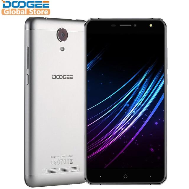 Оригинал DOOGEE X7 Pro 6.0 дюймовый смартфон hd 2.5D IPS 2 ГБ Оперативная память + 16 ГБ Встроенная память android6.0 Dual SIM mtk6737 4 ядра 8.0mp 3700 мАч LTE