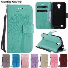 Чехол для samsung Galaxy S4, кожаный бумажник, роскошный флип-чехол для телефона samsung Galaxy S4, чехол с 3D тиснением, чехол-книжка