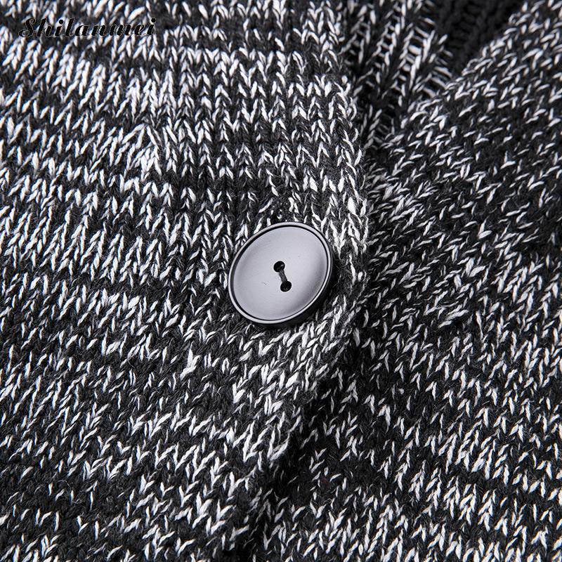 À Capuchon Hiver Tricotage Pull Vêtements Long 2018 De Étoiles Manteau Poches Taille Femmes Automne Grande Tricoté Imprimé Lâche Pour Cardigan Casual qp5waEC