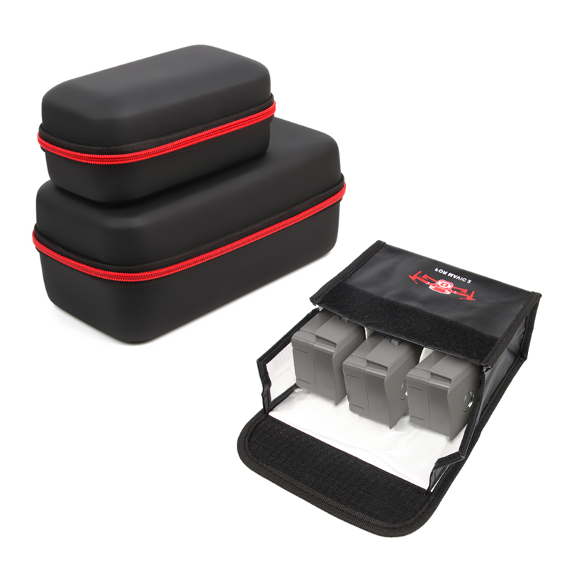 Sunnylife DJI Mavic 2 Pro sac pliable Drone boîtier télécommande boîte Portable Lipo batterie sac de stockage pour DJI Mavic 2 Zoom