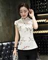 2017 Spring Summer Women Cheongsam Chinese Style Mini Qipao Lady Vestidos Female Short Evening Skirt & Wedding Party Cheongsam