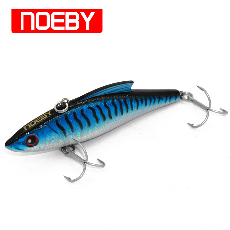 VIB bait 90mm/33g NOEBY Hard fishing lure sinking 0.6-2.0 vibration martificial para pesca leurre peche Free Shipping sealurer 5pcs fishing sinking vib lure 11g 7cm vibration vibe rattle hooks baits crankbaits 5 colors free shipping