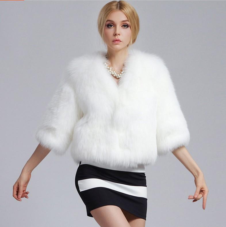Online Buy Wholesale white fur coats from China white fur coats ...