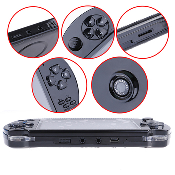 1 Set 4.3in Handheld Game Console Player MP5 Game Player +Data Cable+Headset Built In 1000 Games 32bit 8G Video Game фото