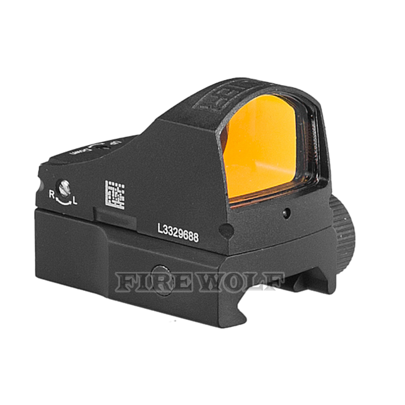 Automático iluminar tactical reflex red dot sight