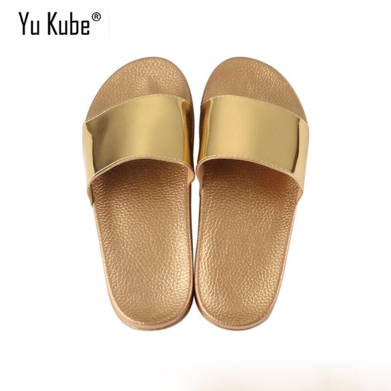 Schuhe Frauen Sandalen 2019 Neuer Stil Yu Kube Sommer Schuhe Frau Sandalen Tanga Slides Flip-flops Alias Mujer 2019 Schiff O Keile Schuhe Für Frauen Plus Größe