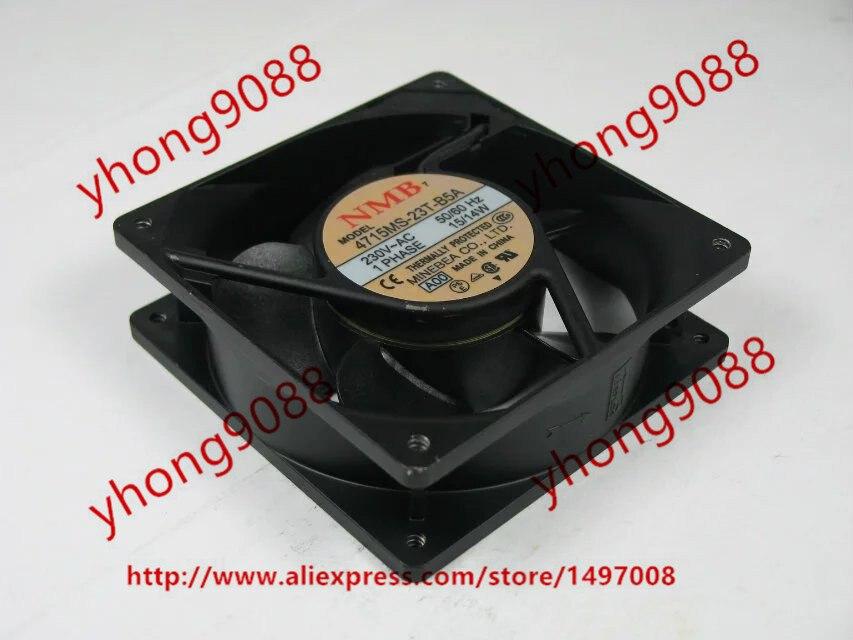 Free Shipping For NMB  4715MS-23T-B5A, A00  AC 230V 15W 2-pin, 120x120x38mm Server Square fan free shipping for nmb 5915pc 20w b20 s05 ac 200v 35w 2 pin 172x150x38mm server square fan