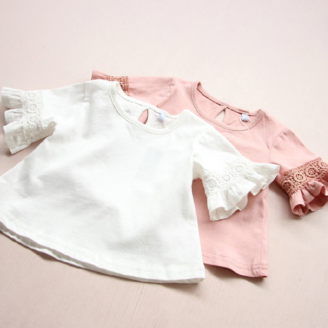 Pink Ruffle Shirt