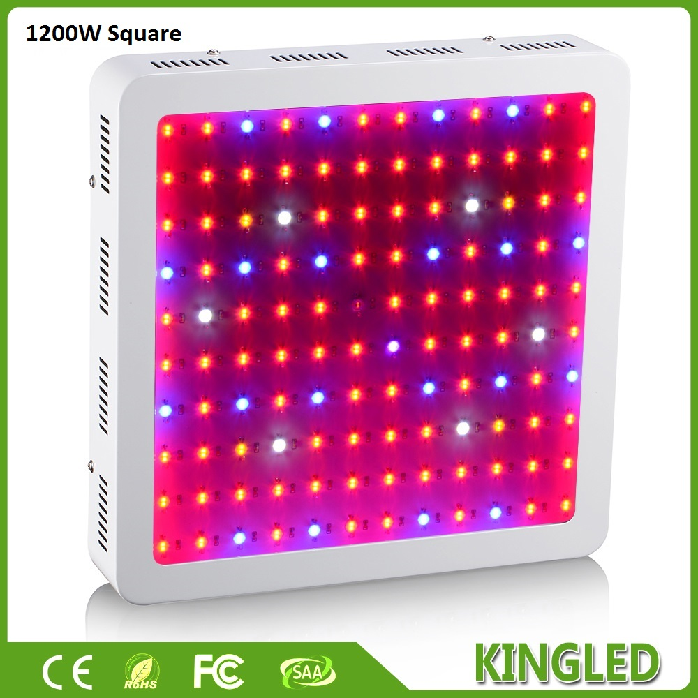 2017 Best KingLED 1200W LED Grow font b Light b font Double Chip Full Spectrum LED
